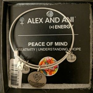 Alex and ani (+) energy bracelet